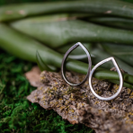 Silver Amazzi Ring Stacker