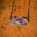 Raw Amethyst Barkley Necklace