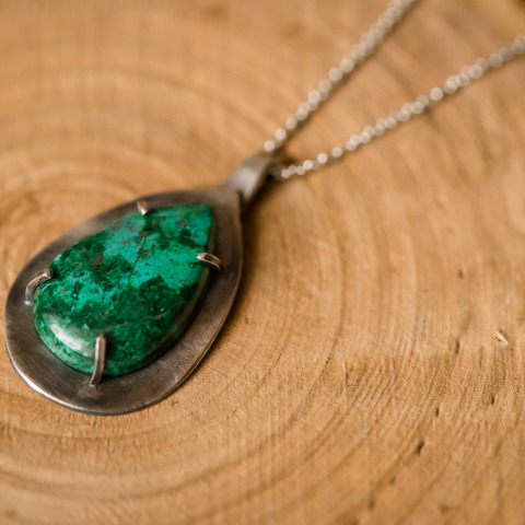 Deep Waters Pendant Necklace
