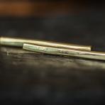 Brassy Lines Earrings