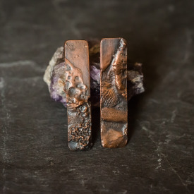 Copper Terrain Earrings