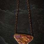Funky Copper Lands Necklace