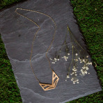 NuGold Winged Necklace