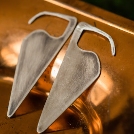 Modern Hearted Earrings