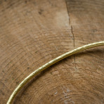 Brass Choker Necklace