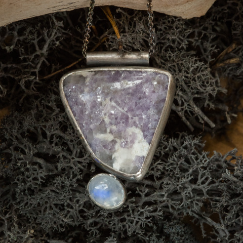 Lavender Fields Necklace