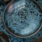 A Blue Mossy Realm Necklace